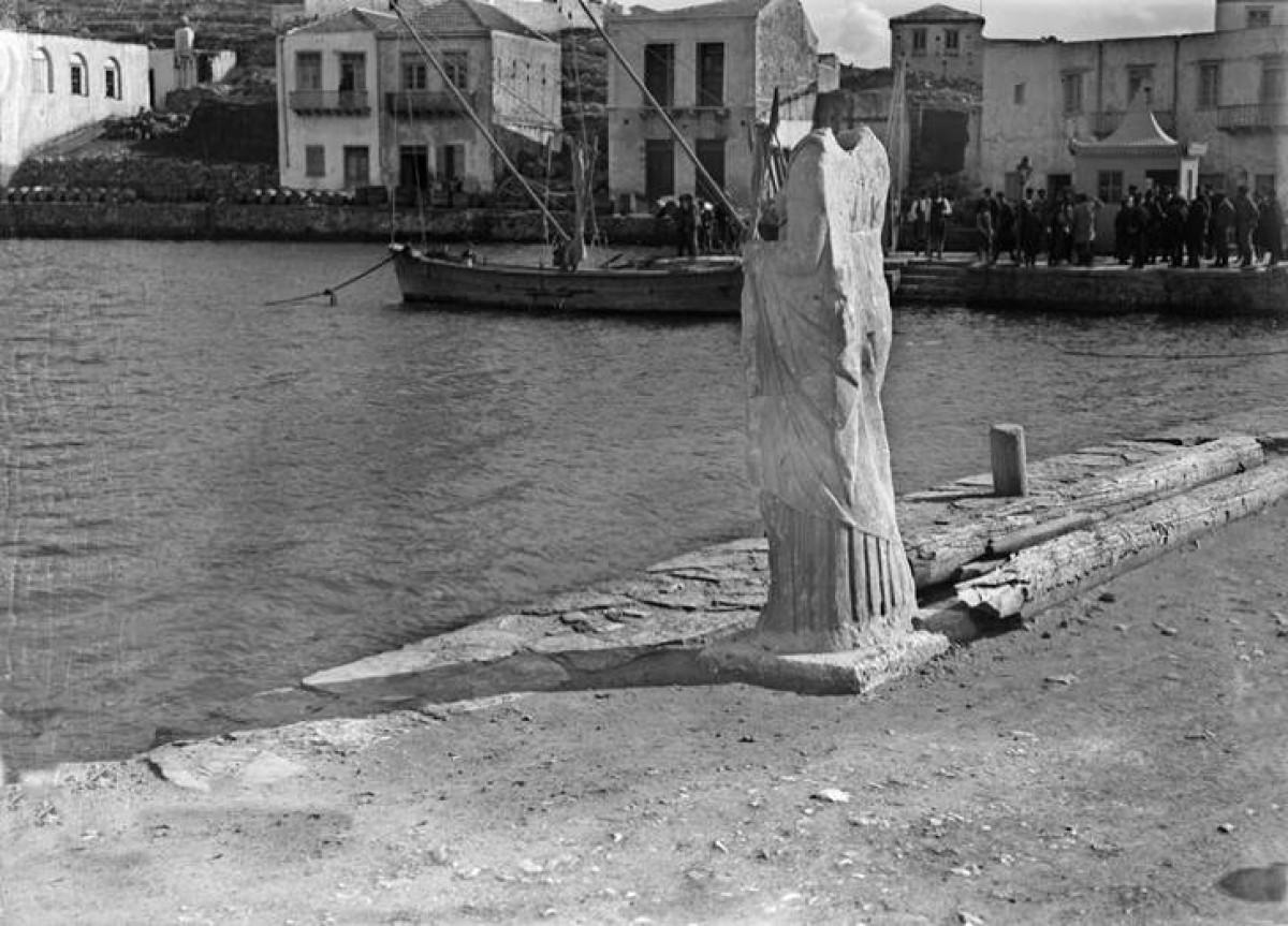 Άγιος Νικόλαος Κρήτης. Λιμάνι, 1910 – 1911