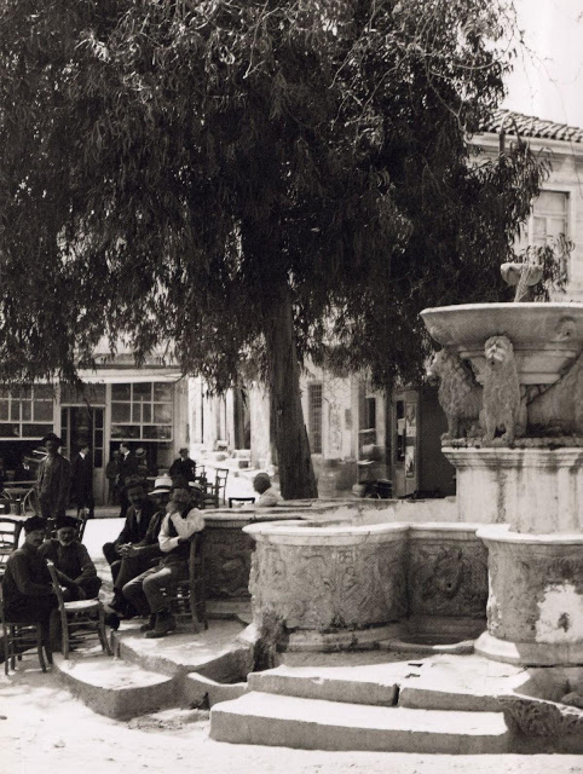 Ηράκλειο, κρήνη Μοροζίνι, 1920