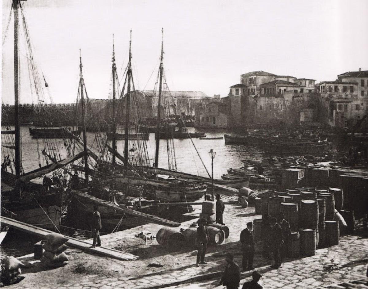 Ηρακλείο Κρήτης, Λιμάνι, 1911
