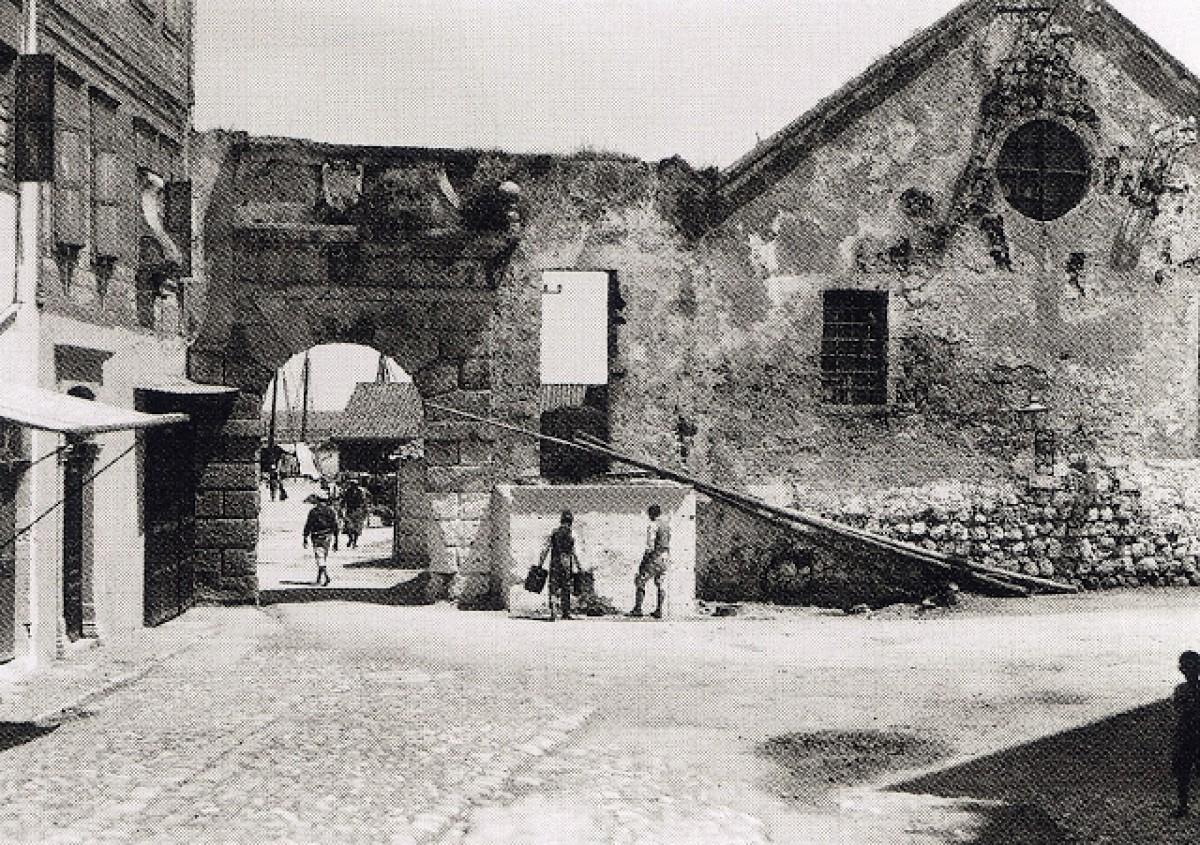 Χανιά, Η πύλη και το νεώριο, 1911