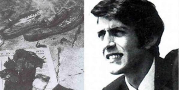 19 Σεπτεμβρίου 1970 αυτοπυρπολήθηκε ο Κώστας Γεωργάκης: Ο άνθρωπος που έδωσε τη ζωή του για την ελευθερία