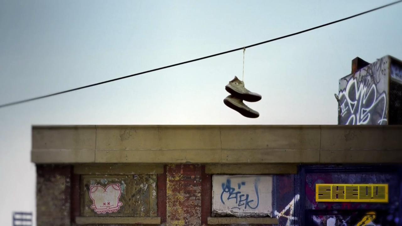 shoe-tossing