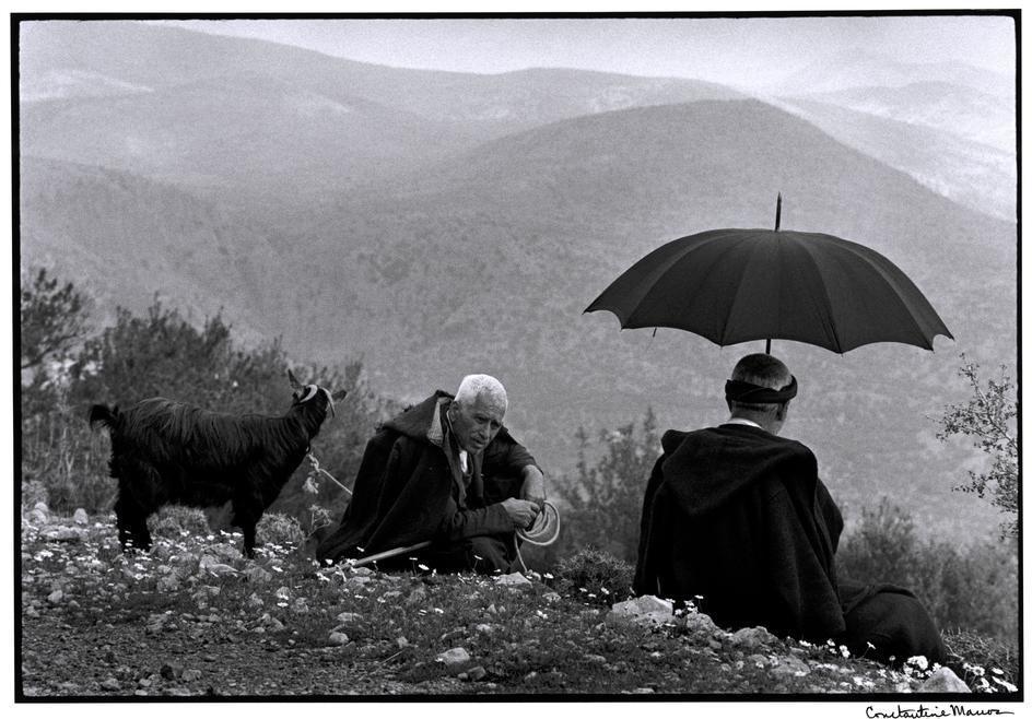 Κρήτη: Βοσκοί με κατσίκα – 1964
