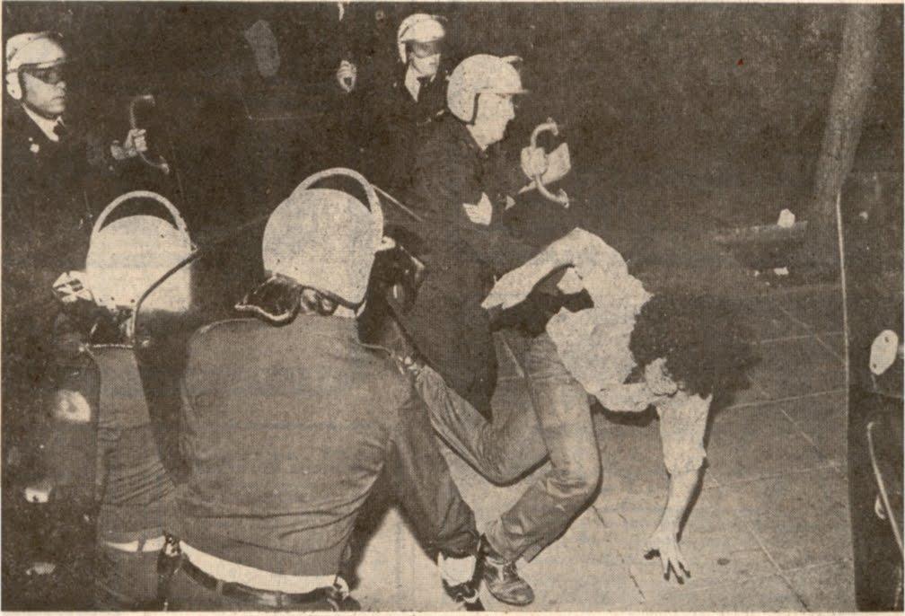ΜΑΤ, διαδηλωτές,1980