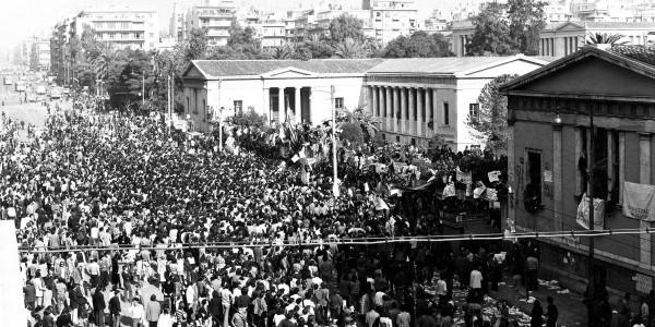 Το φοιτητικό κίνημα και η εξέγερση του Πολυτεχνείου | Φωτός + Βίντεο