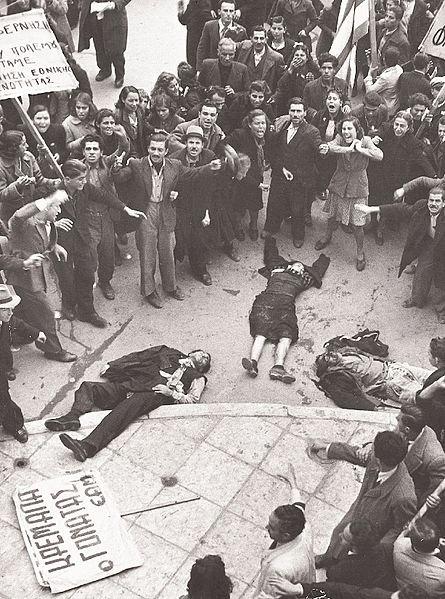 Η Ματωμένη Κυριακή 3 Δεκέμβρη 1944 | Φωτός+Βίντεο