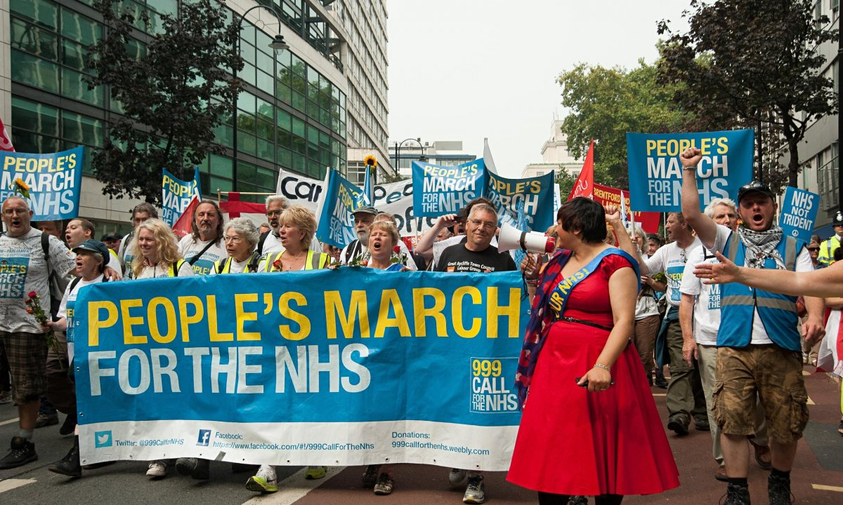 NHS-protest-against-priva-014