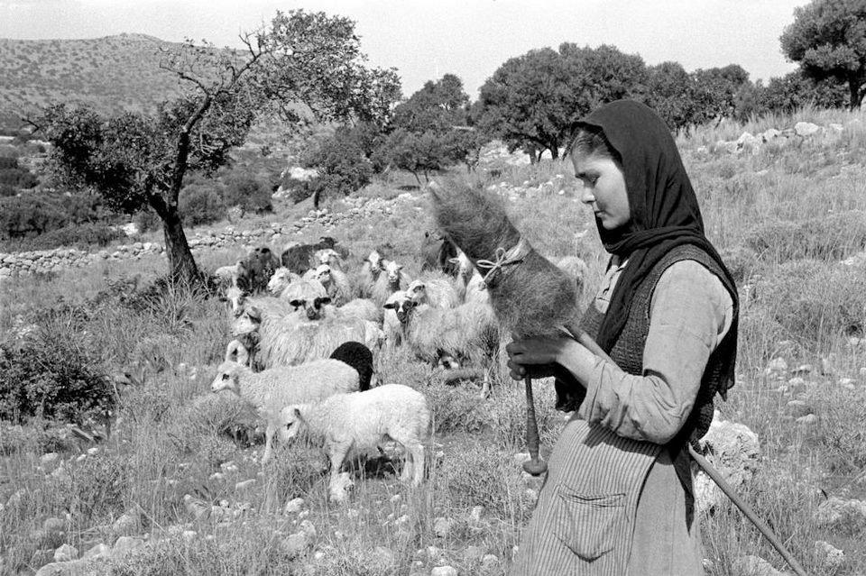 Φωτογραφία, Erich Lessing - Κρήτη 1955