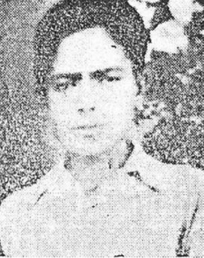 Μιχάλης  Μαλανδράκης του Νικολάου, 19 χρονών, τσαγκάρης από τον  Κακόπετρο. Εκτελέστηκε από τους  Γερμανούς στις 28/08/1944.