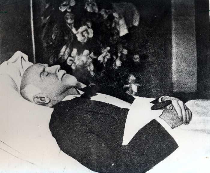 Ο Ελευθέριος Βενιζέλος νεκρός