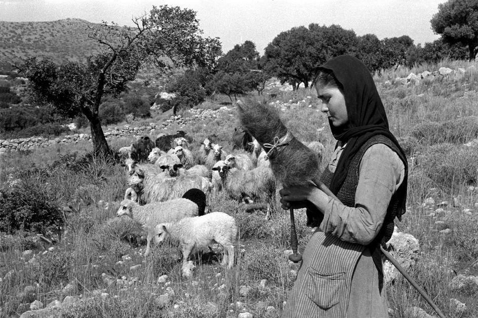 Κρήτη 1955 φωτογραφία Erich Lessing j