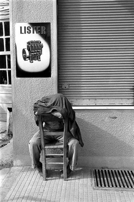 Κρήτη 1955 φωτογραφία Erich Lessing.Μεσημβρινή σιέστα