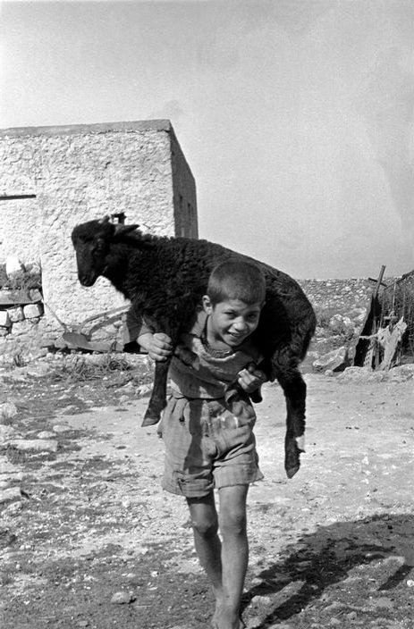 Erich Lessing; GREECE. Crete. 1955.