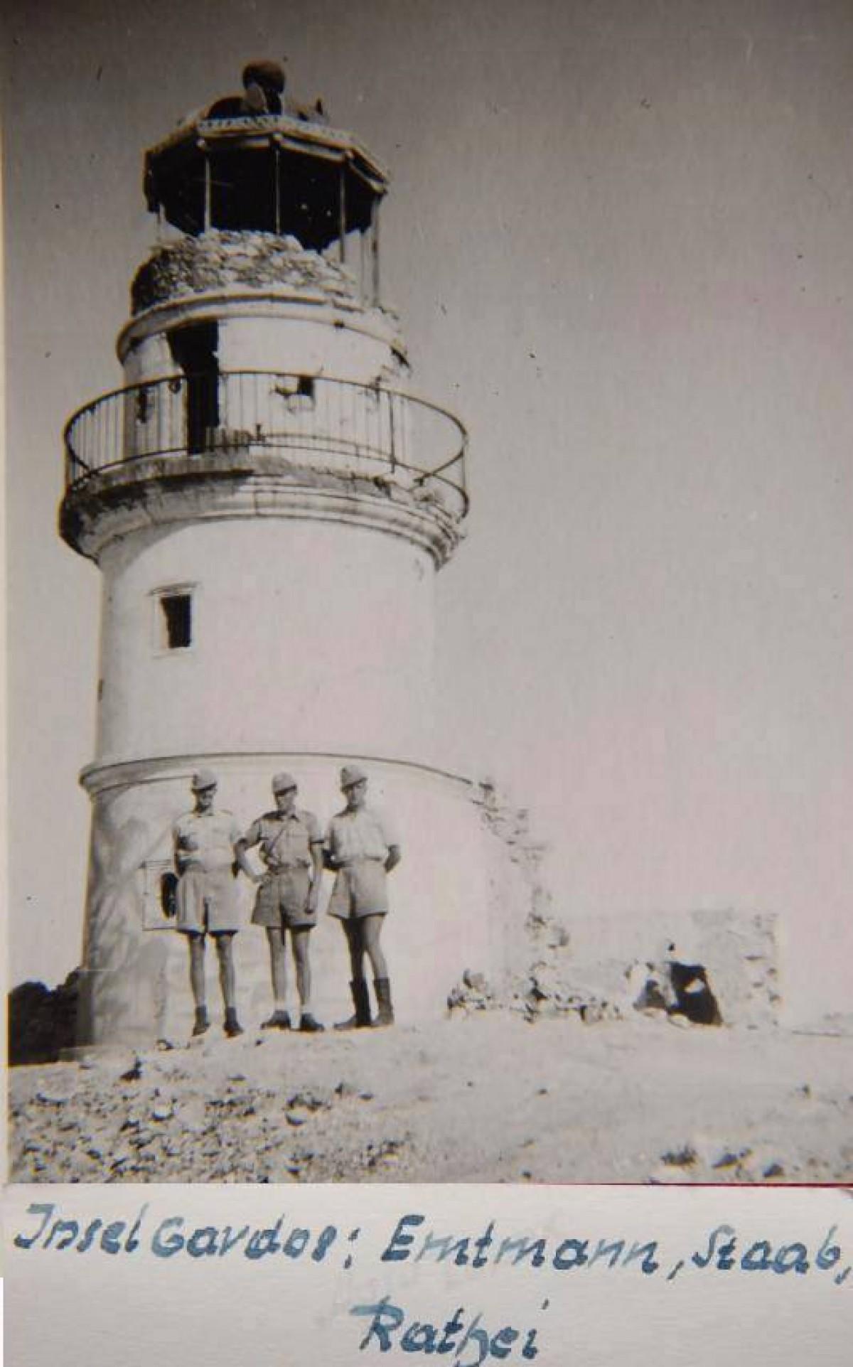 1941, Γαύδος. Στρατιώτες της Luftwaffe