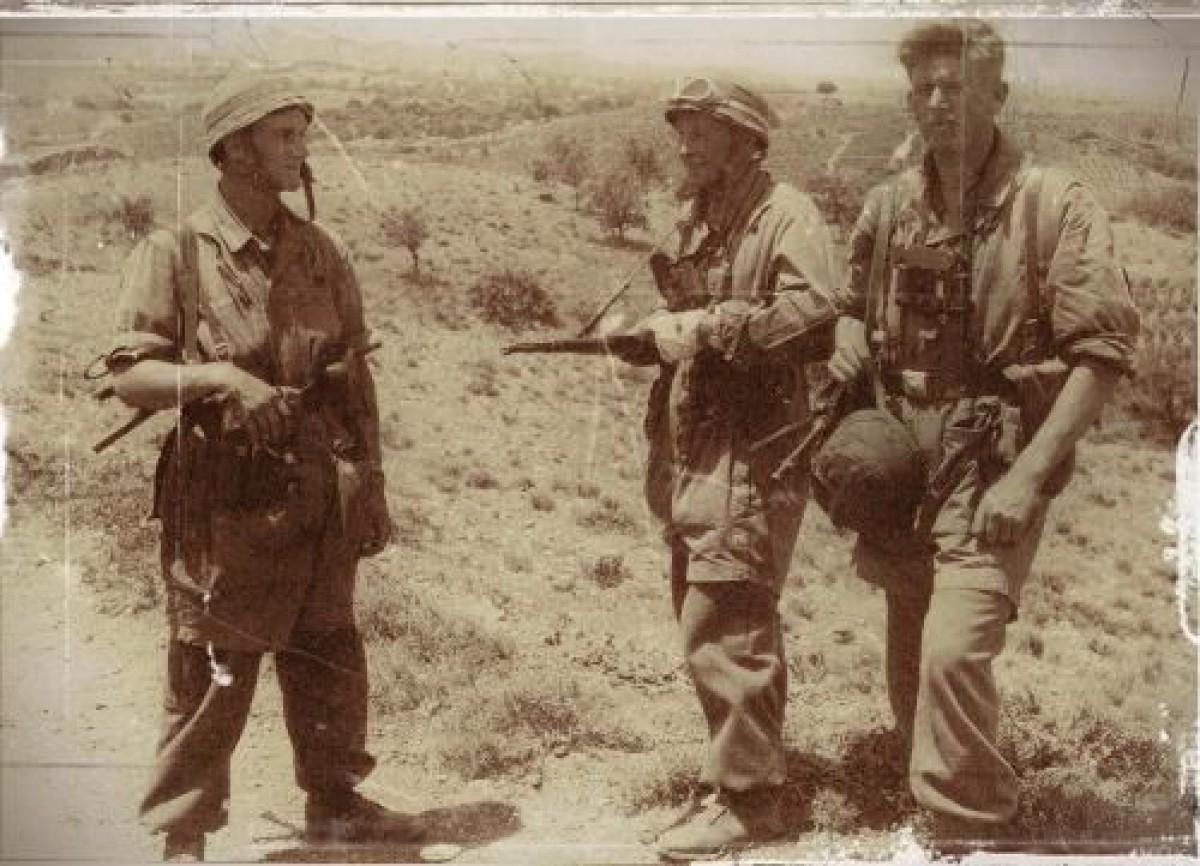 Invasion de la Crète par les parachutistes allemands