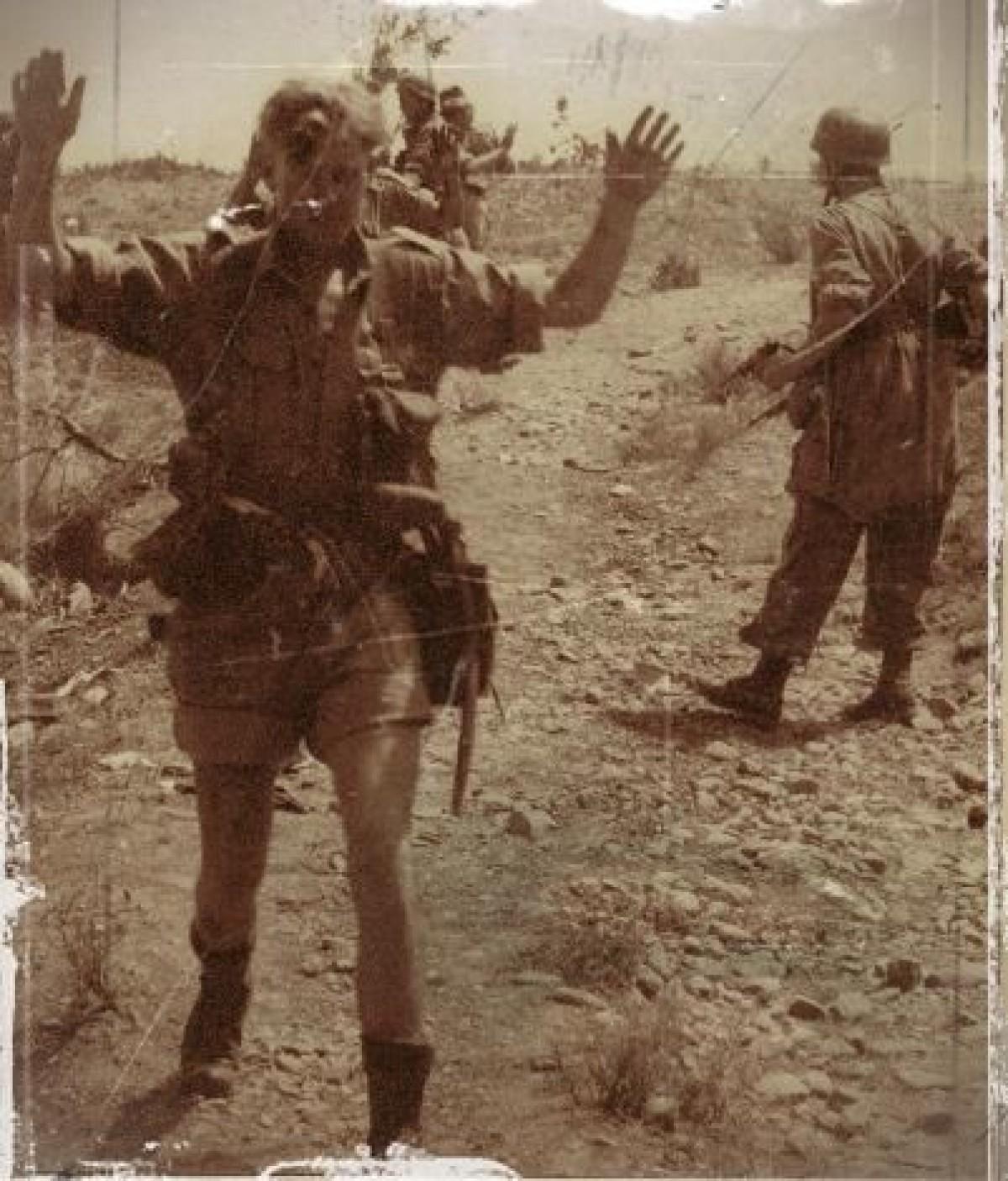 prisonnier britannique en Crète en 1941
