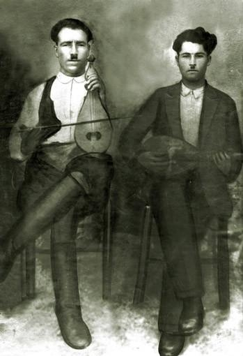 Cretan musicians, early 20th century