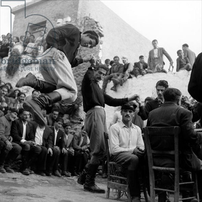 Wedding at Anogia, Crete, 1954 (bw photo), Photographer Dimitris Harissiadis (1911-93), Benaki Museum, Athens, Greece