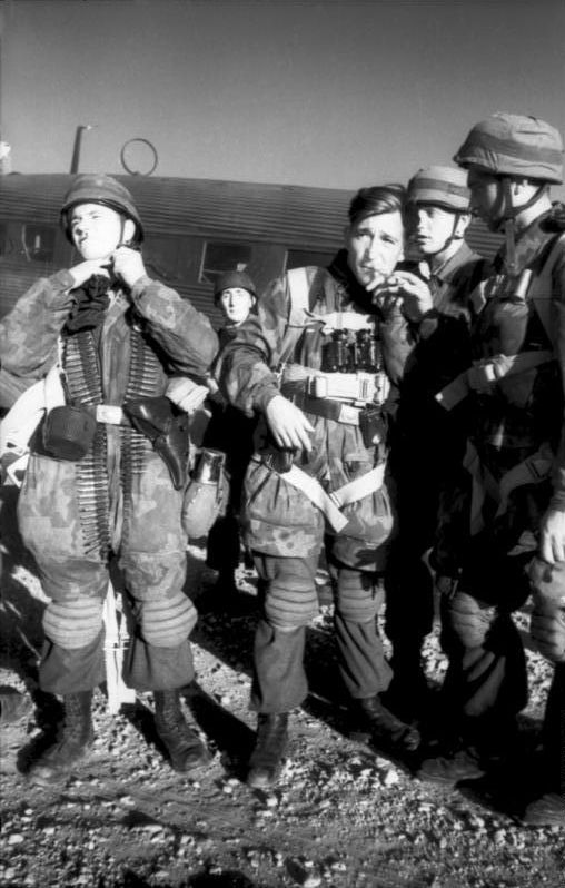Battle of Crete in May 1941. German paratroopers sustained almost 7,000 casualties, meeting fierce resistance from the Cretan locals