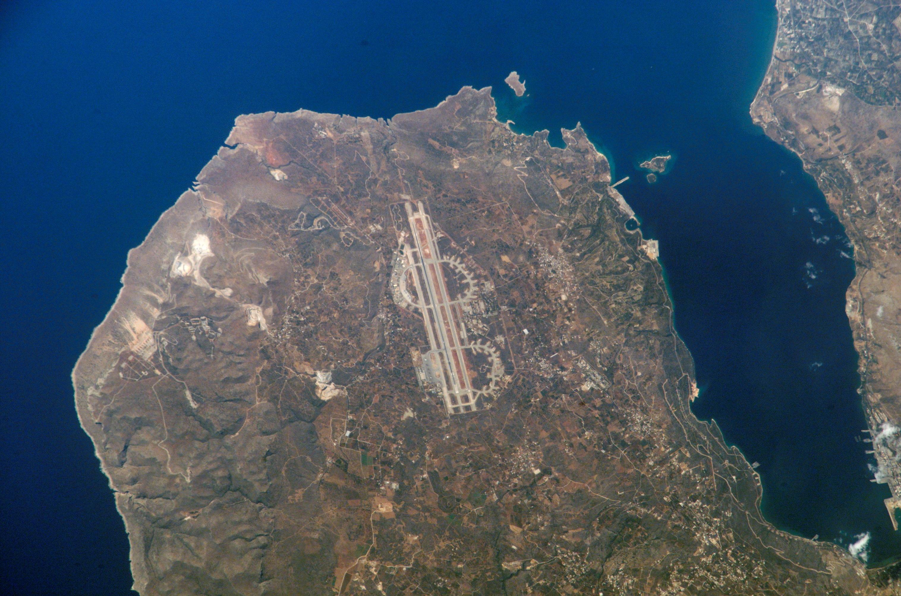 Chania_Airport_NASA