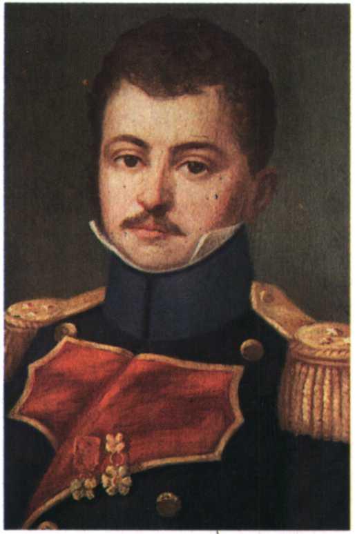 Διονύσης Βούρβαχης, αρχηγός επαναστατών, έπεσε σε μάχη το 1827