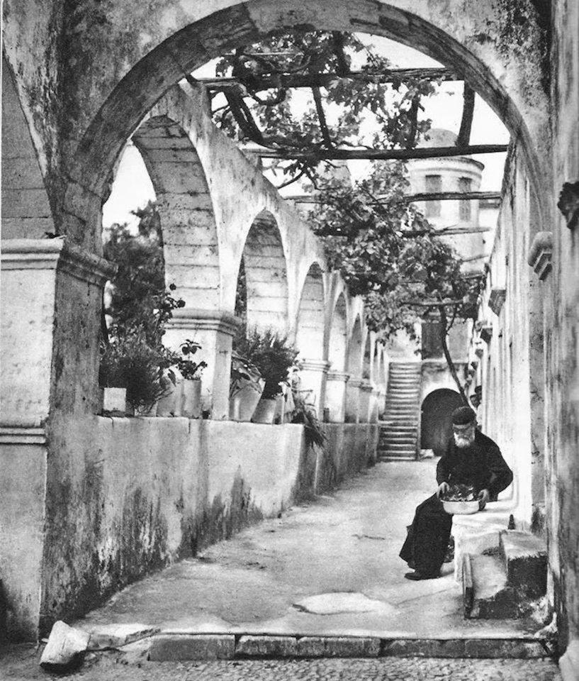 Μοναστήρι Αγίας Τριάδας - Χανιά 1950