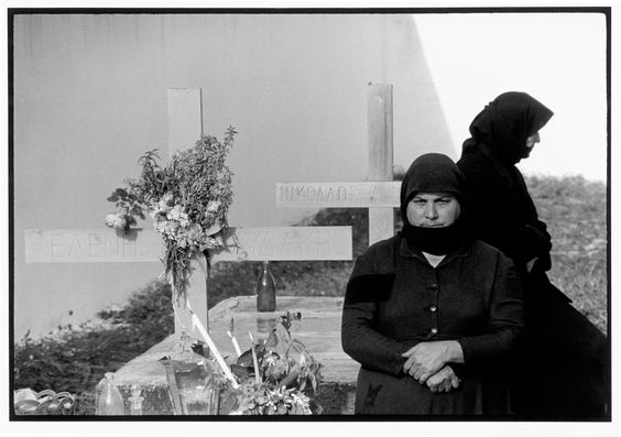Greece. Crete. 1964. In the ceremony, Easter Sunday. A Greek Portfolio p.69
