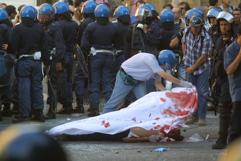 Violent G8 Protests