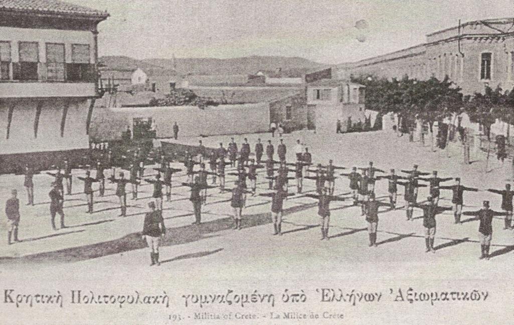 +1909 Milice de Crete