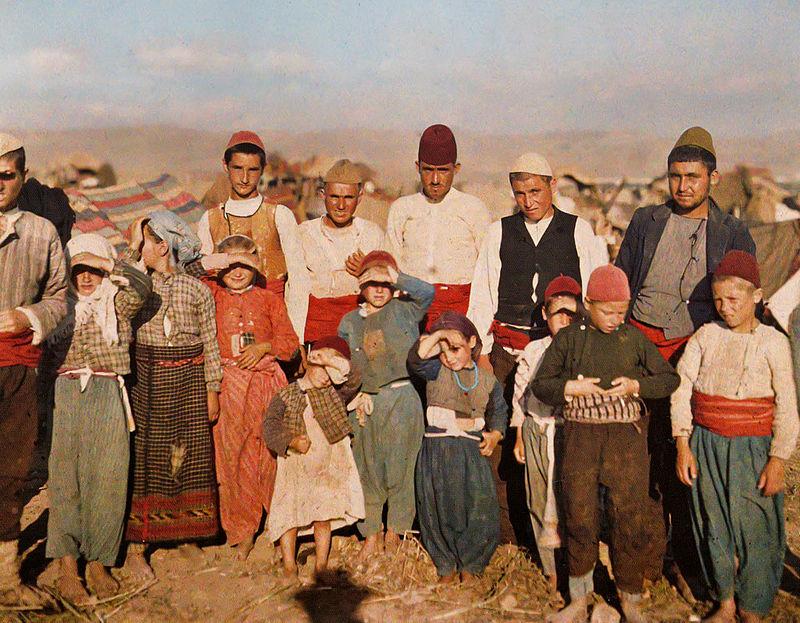 1913 Muslim refugees from Edirne