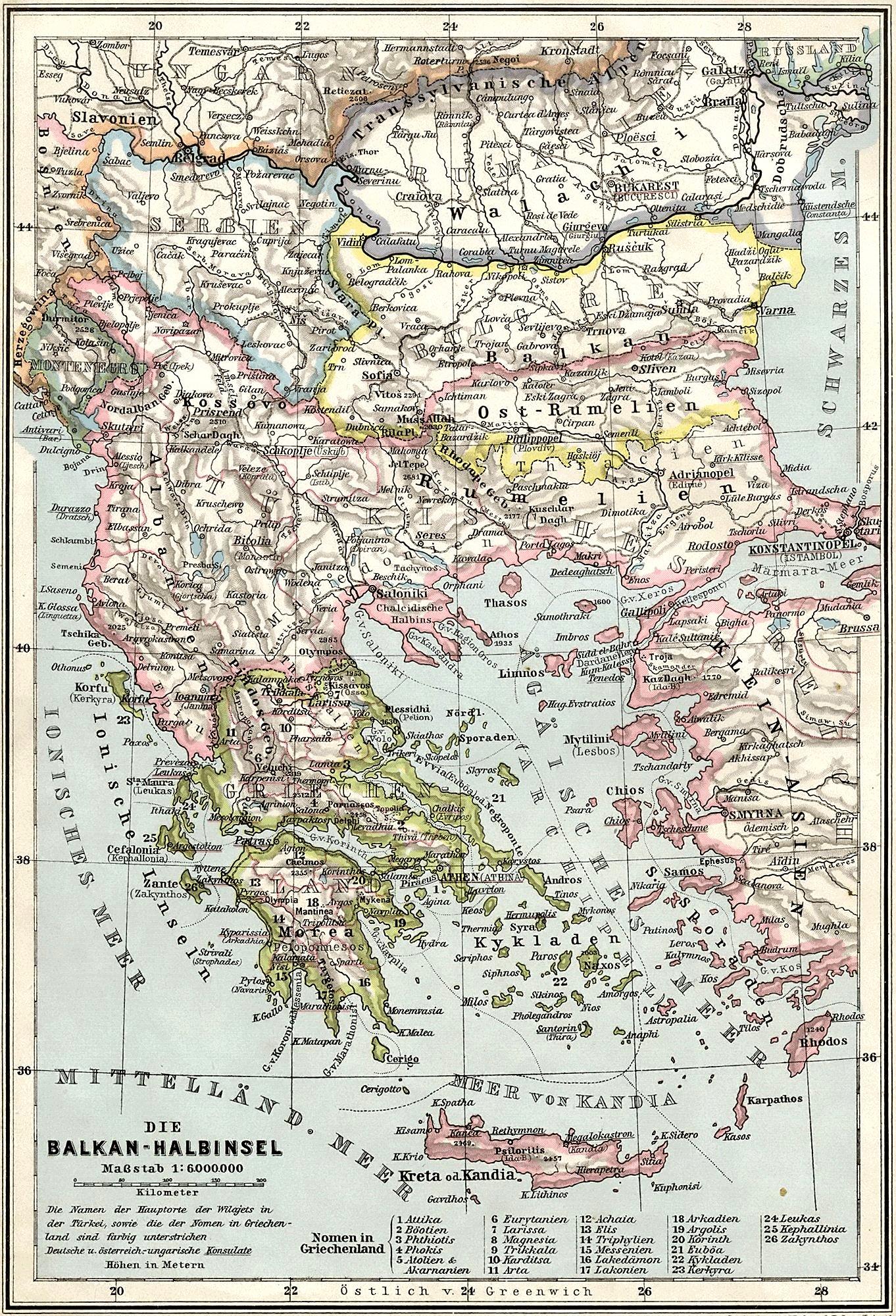 Balkans 1905
