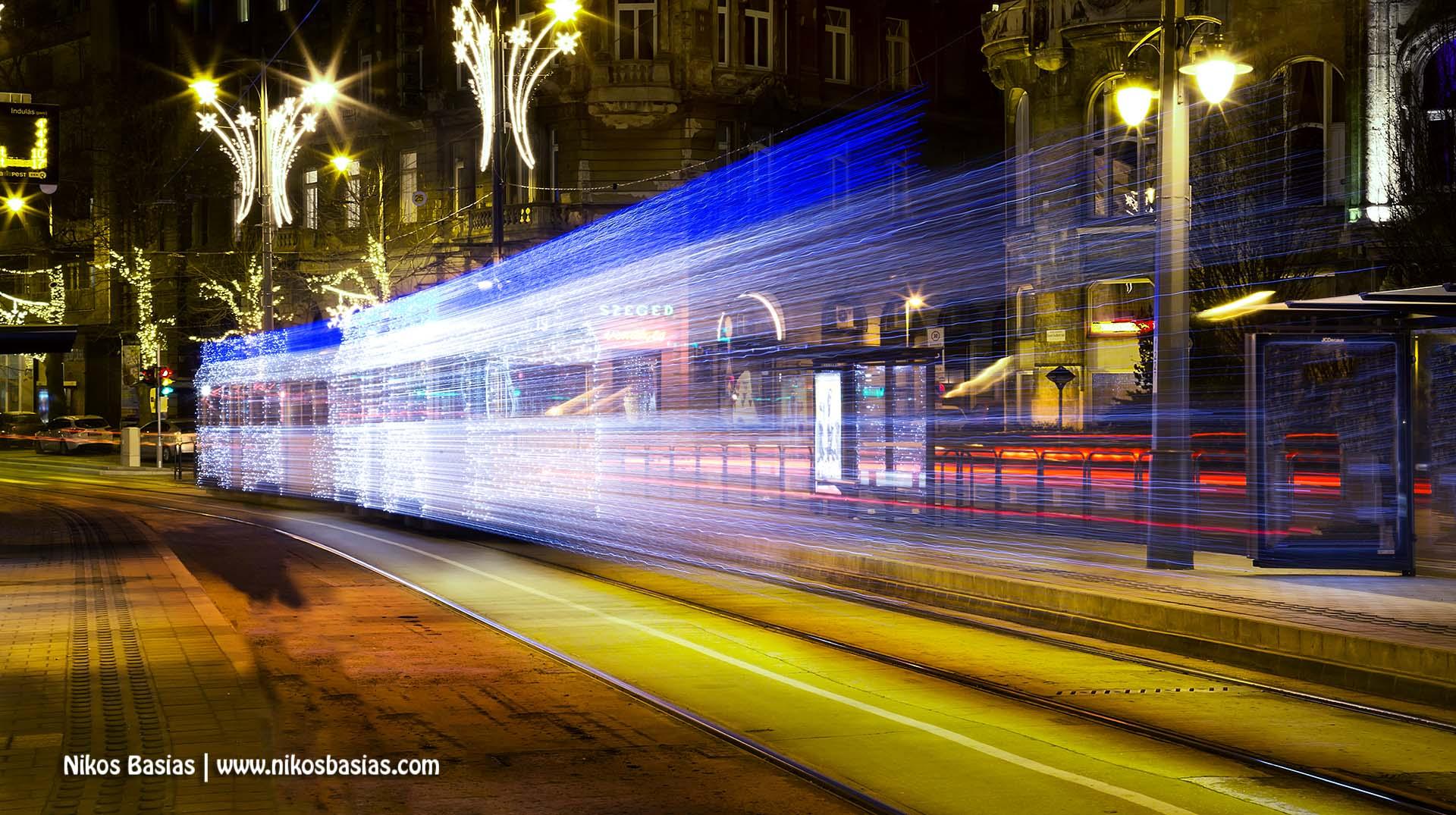 Budapest Christmas train