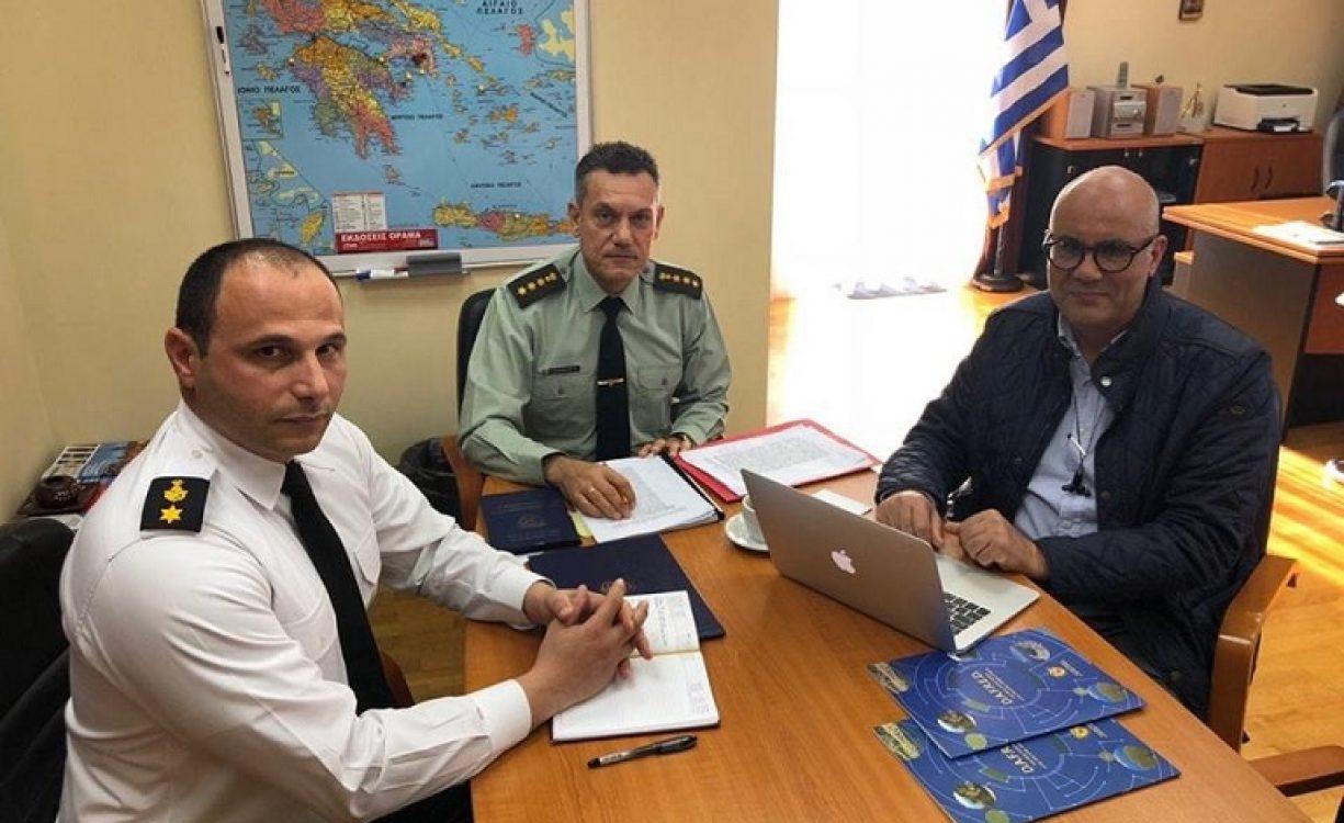 """Τ. Βάμβουκας: """"Θετικές εξελίξεις"""" για το Στρατόπεδο Μαρκοπουλου από τη συνάντηση στο Υπουργείο Εθνικής Άμυνας"""