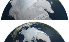 Η φετινή έκταση των πάγων της Αρκτικής είναι η μικρότερη που έχει καταμετρηθεί ποτέ