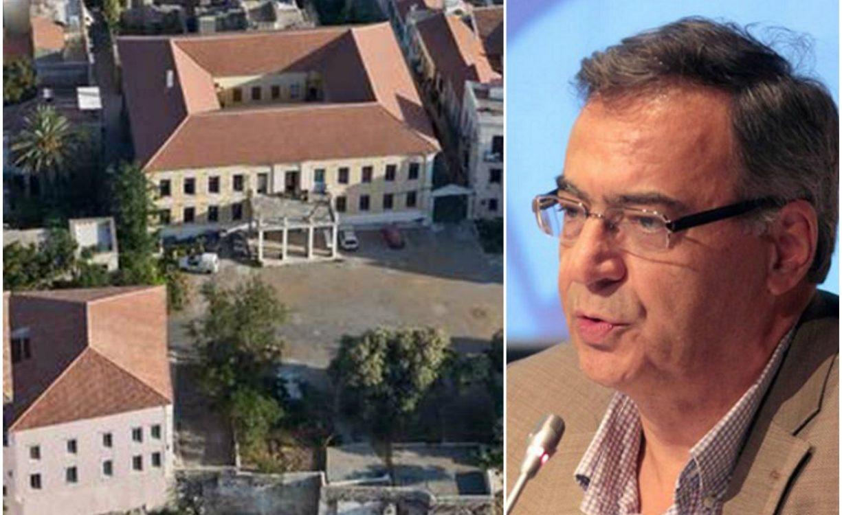 Ν. Χριστοδουλάκης για κτίρια στο Λόφο Καστέλι: Και την οικία Βενιζέλου ξενοδοχείο ήθελαν να την κάνουν, όχι το φωτισμένο μουσείο που λαμπρύνει την πόλη