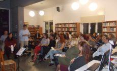 Ρεπορτάζ από την εκδήλωση για την παρουσίαση της ποιητικής συλλογής της Αργυρώς Λουλαδάκη