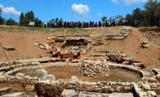 Το έργο της αποκατάστασης στα αρχαία Άπτερα σε βίντεο