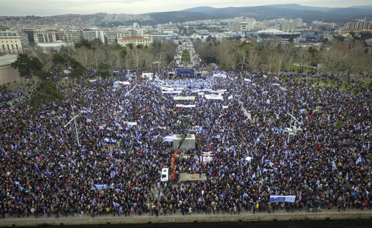 Ξεπέρασε κάθε προσδοκία το συλλαλητήριο για τη Μακεδονία – Για 500.000 συμμετέχοντες κάνουν λόγο οι διοργανωτές, 55.000 σύμφωνα με την Αστυνομία | Φωτός