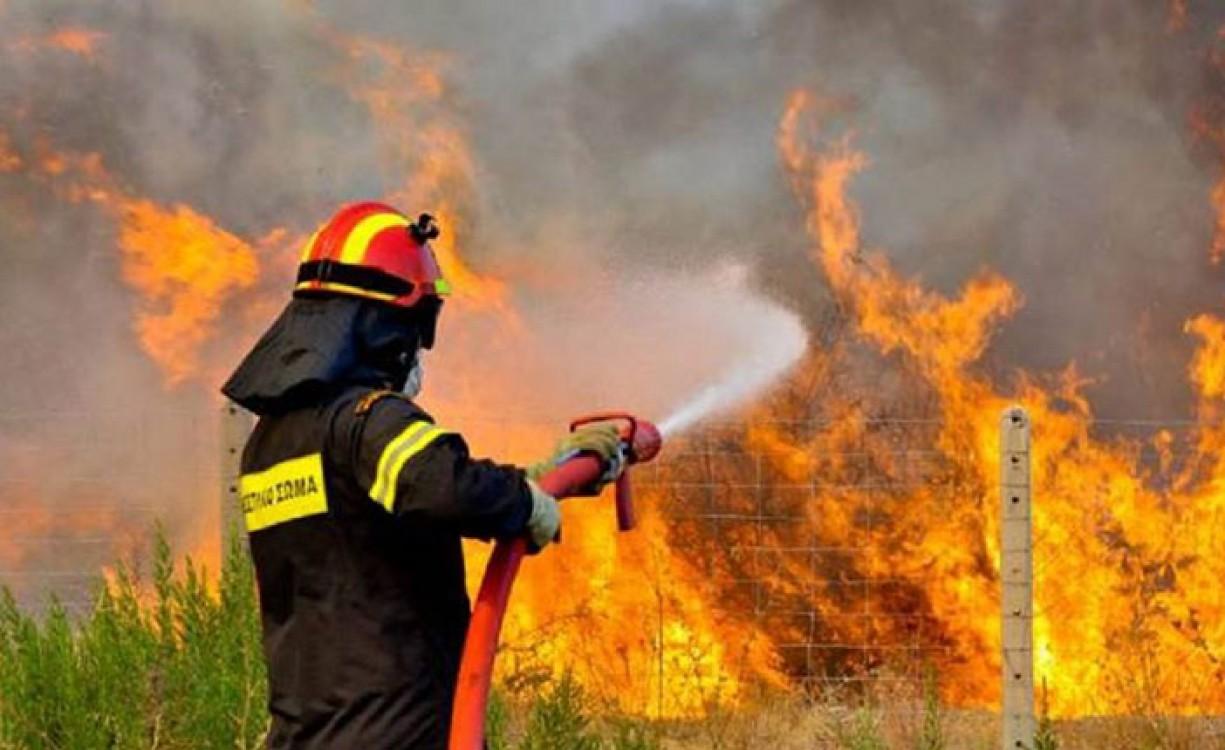"""Πάνω από 50% λιγότερες πυρκαγιές φέτος στην Κρήτη σε σχέση με πέρυσι – Το σύστημα """"energa"""" έχει βοηθήσει, λένε οι πυροσβέστες"""