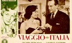 «Ταξίδι στην Ιταλία» του Ρομπέρτο Ροσελίνι την Κυριακή, 19 Φεβρουαρίου 2017 στις 20.00 μ.μ. στην αίθουσα του Τ.Ε.Ε. Δυτικής Κρήτης
